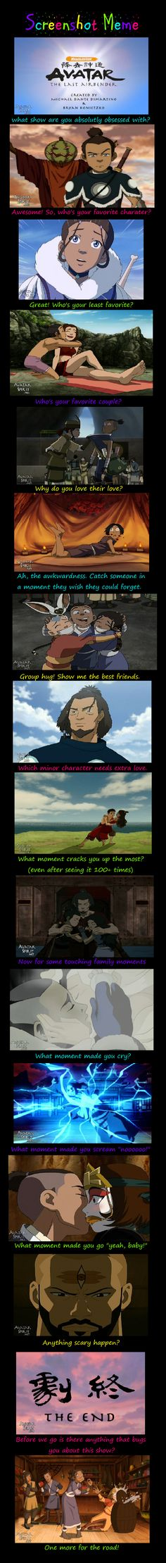 Avatar: The Last Airbender Screenshot Meme by MasterOf4Elements.deviantart.com
