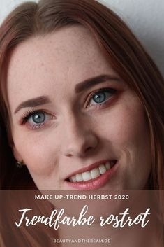 Herbst Make Up Trend 2020 Rostrot [Beauty]