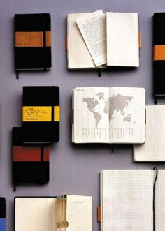 The Monster Collection of Moleskine Tips, Tricks and Hacks-                                                          Although Moleskins are extremely expensive (in my opinion), some good ideas are found here.