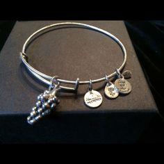 A Gs Charm Bangle Bracelet