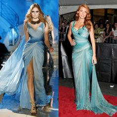 Left: Zuhair Murad dress I'm in love with for a bridesmaid: Element Water