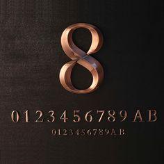 锥形立体铜字_锥形立体铜字 楼层楼栋单元号牌 古铜 厂家定制直销 - 阿里巴巴 Art Deco Logo, Cut Out Letters, Signages, Typography, Lettering, Signage Design, Environmental Graphics, Bakery, Channel
