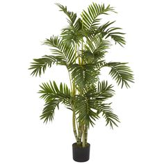 4' Areca Palm Faux Silk Tree-#5336 #NearlyNatural