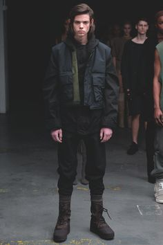 See the complete Yeezy Fall 2015 Ready-to-Wear collection.