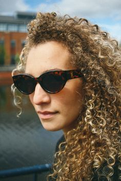 2ecbf9f95 Leah wearing our VOX Sunglasses. We are evolving our sunglasses range this  season, just
