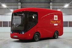 Die Royal Mail testet Trucks mit E-Antrieb  Die Royal Mail, die Post von Großbritannien, hat seit kurzem eine Reihe neuer Fahrzeuge. In Zusammenarbeit mit Arrival, einem Hersteller von elektr...