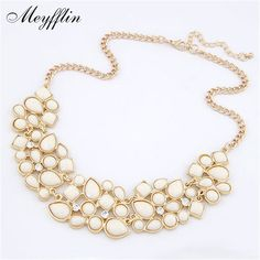 Fashion Statement Necklaces & Pendants for Women Collier Femme 2017 Vintage Maxi Necklace Collares Mujer Kolye Jewelry Bijoux