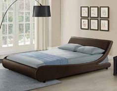Choose king size leather #bed  for exquisite luxury and extended durability.