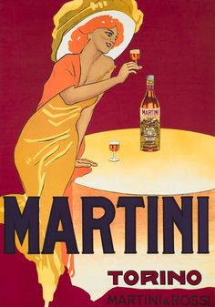Martini Vermouth Torino (3rd edition) by Dudovich, Marcello | Shop original vintage posters online: www.internationalposter.com