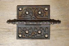 Antique Cast Iron Door Hinge