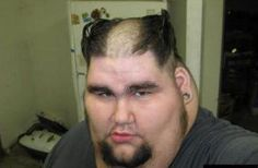 Haircuts Gone Badly Wrong::: Hairdressing is an art form, and it takes years to master, however, some qualified hairdressers seem to have been passed by their hair dressing examiners for passing's sake as some of these images will show. http://www.thetop10s.net/fashion/haircuts-gone-badly-wrong/