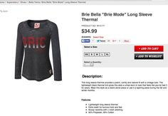 WWE Brie Bella Brie Mode thermal
