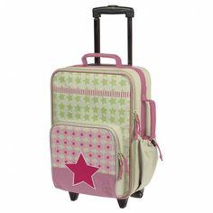Lässig, marque de bagagerie et textile renommée, propose ici la collection Starlight.    Pouremmener ses affaires pour partir en voyage, son doudou et son goûter pour l'école... En toutes situations, la valise trolley saura se rendre utile !