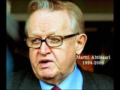 Martti Ahtisaari Former President of the Republic of Finland and Nobel Peace Prize winner, Martti Ahtisaari is noted for his international peace work and is a mediator and diplomat of the United Nations Nobel Peace Prize, Former President, United Nations, The Republic, Historian, Finland, Presidents, Culture, School