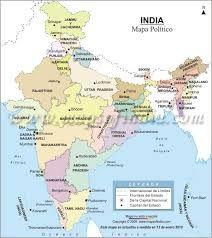 India political map in telugu india pinterest telugu india resultado de imagen para mapas polticos gumiabroncs Choice Image