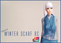 Simsworkshop: Winter Scarf by Sympxls • Sims 4 Downloads