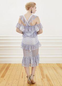ALICE MC CALL - Blue Cocktail Dress | Davet çok elbisem yok