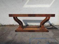 Art Deco Rectangular Coffee Table with Mirrored Los Angeles by housecandyla, $199.00