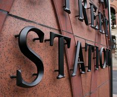 Main Street Station - About - Acorn Sign Graphics