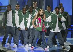 "JoJo performed ""Leave (Get Out),"" of course. 