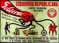 CARTELES DE LA GUERRA CIVIL ZONA REPUBLICANA Y NACIONAL
