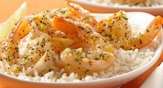 Easy Lemon Pepper Scampi: Keep frozen peeled shrimp on hand in your freezer so you can prepare this quick and easy dish anytime.