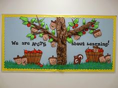 We are Nuts About Learning! - Great for Pre-K Complete Preschool Curriculum's Fall / Autumn theme, Apple theme, October / November. Repinned by Pre-K Complete - follow us on our blog, FB, Twitter, and Google Plus!
