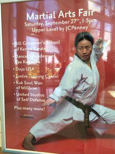 Martial Arts day at Tanforan. COME ONE COME ALL