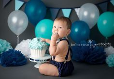 Boy cake smash outfit, baby bow tie and suspenders, tie and diaper cover, baby boy first birthday outfit, first birthday photo prop by ShopLilSquirts on Etsy https://www.etsy.com/listing/243050304/boy-cake-smash-outfit-baby-bow-tie-and
