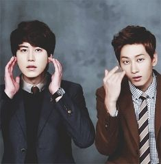 Kyu and Hyuk | Super Junior