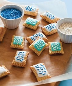 Cute Mini Pop Tarts Recipe by Martha Stewart | Maypurr