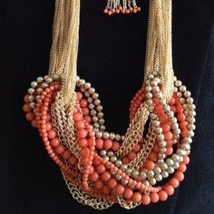 Nice one! difficult to make I think but I really love the mix of colors gols/tangerine!