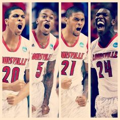 2013 NCAA Men's Championship....this team wants it! And they earned it 4/8/13   Go Cards!