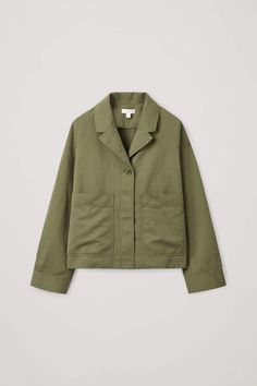 Cos Casual Cotton-linen Blazer In Green Color Khaki, Khaki Green, Coats For Women, Jackets For Women, Clothes For Women, Cos Jackets, Linen Blazer, Shirt Shop, Cotton Linen