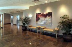 Medical office building interior