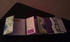 Inside card... DAAC