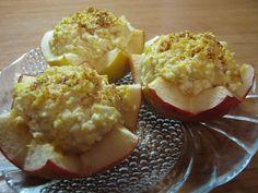 Teri konyhája: Túrókrémmel töltött sült alma