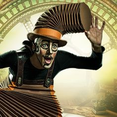 KURIOS – Cabinet of Curiosities from Cirque du Soleil #CirqueduSoleil