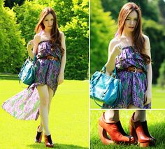 Violets + Giveaway on my blog! (by Chloe T) http://lookbook.nu/look/2771401-Violets-Giveaway-on-my-blog