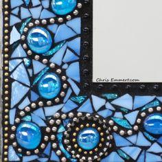 """Ooh La La"" (Detail) Mosaic Mirror                                                                                                                                                      More"