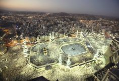 The centre of the world - blessed Mecca.