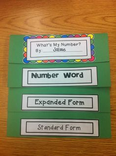 Place Value FREEBIE to assess number word, expanded form and standard form of numbers.