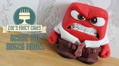 Inside Out Character: Anger - Zoes Fancy Cakes, YouTube