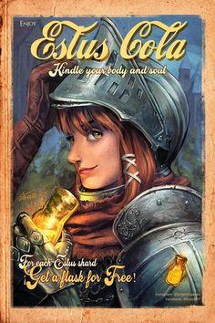 Ad done right Arte Dark Souls, Dark Souls 2, All Souls, Demon's Souls, Bloodborne Art, Soul Game, Anime Soul, Dark Drawings, Female Armor