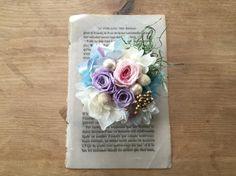 preserved flower series_____________________________________プリザーブドフラワーをたっぷり使ったふ...|ハンドメイド、手作り、手仕事品の通販・販売・購入ならCreema。