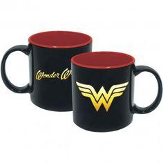 Wonder Woman Iridescent Insignia Coffee Mug