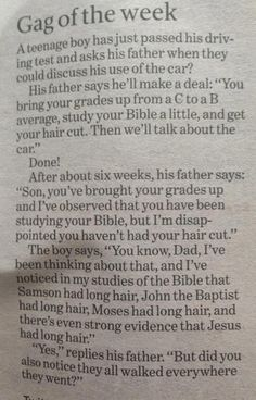 Study your Bible - funny Christian joke of the week!