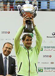 Roger Federer | Istanbul Open 2015 Champion