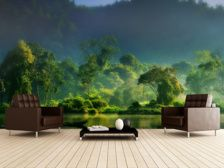 Painting of Nature mural wallpaper