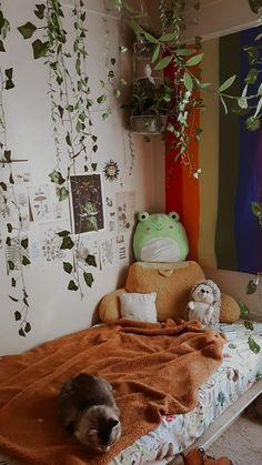 Room Design Bedroom, Room Ideas Bedroom, Bedroom Decor, Bedroom Inspo, Indie Room, Cute Room Decor, Aesthetic Room Decor, Bedroom Vintage, Dream Rooms